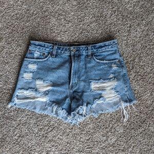 Abercrombie Annie High Rise Shorts